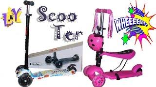 Самокат и самокат-велобег Обзор Scooters Видео для детей