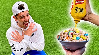 Eating the Worlds WEIRDEST Food Combinations - Challenge