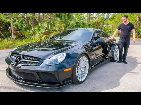 the sl65 black series is a 300 000 disappointment youtube. Black Bedroom Furniture Sets. Home Design Ideas