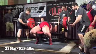 1,075kg/2,369.9lbs All-Time World Record Raw Total w/o wraps @ 138.8kg/305.9lbs