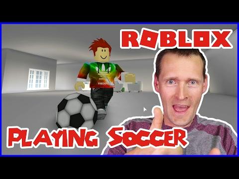 Playing Soccer in Bloxburg!!!