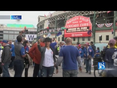 News 18 ventures up to Chicago for World Series