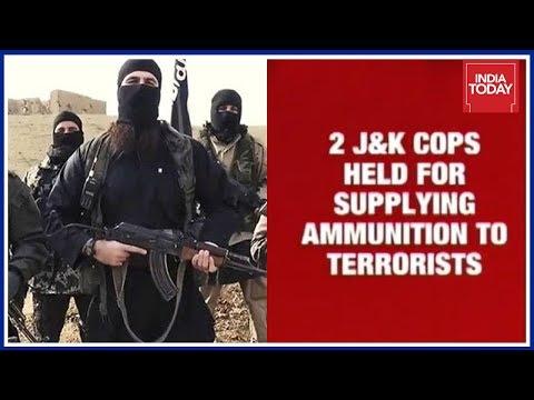 2 Policemen Arrested For Supplying Ammunition For Terrorists In Shopian, J&K