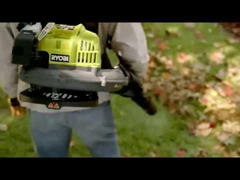 TV Commercial Spot - The Home Depot - Ryobi Backpack Blower - More Saving More Doing