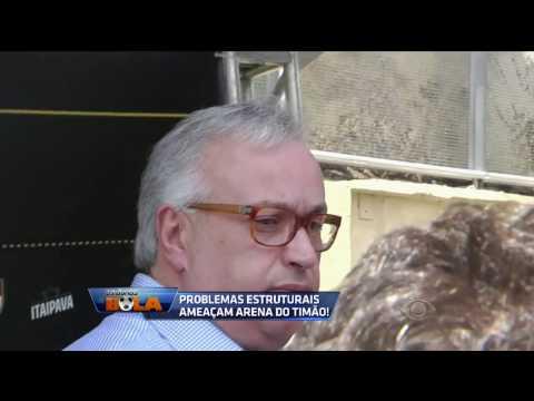 Roberto De Andrade Sobre Problemas Na Arena: Temos Que Esperar