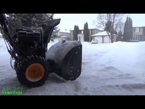 Living the Lawn Care Life Style #5 - Snow Clearing #1