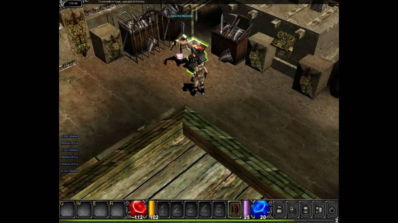 Mu Online Gameplay - First Look HD - YouTube