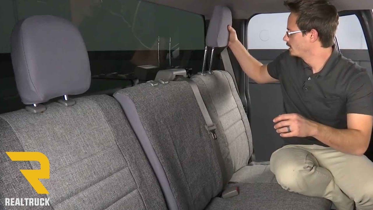 how to install fia oe seat cover on a 2015 ford f 150 [ 1280 x 720 Pixel ]