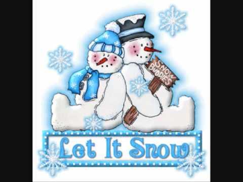 let it snow by Dean Martin *LYRICS* - YouTube