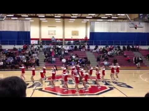 Oakland High School Cheerleading Half Time Routine