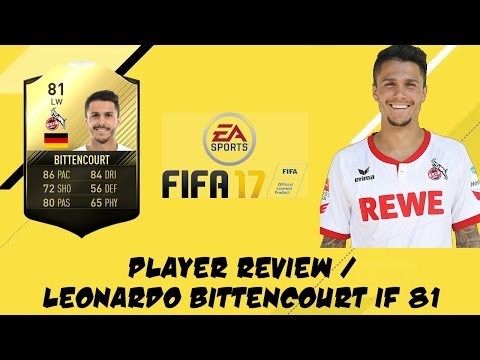 FIFA 17 - Leonardo Bittencourt  TOTW (81) - Player Review #1