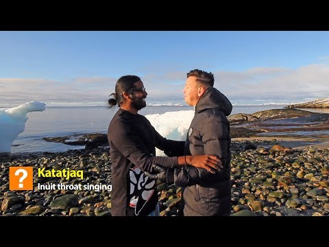 How to do the Inuit Throat Singing - Wilbur Sargunaraj Feat: Hans Henrik