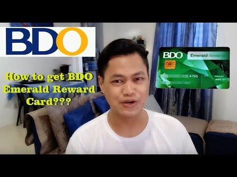How you can get bdo rewards card