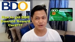 How you can get bdo rewards card