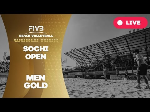 Sochi Open - Men Gold - Beach Volleyball World Tour