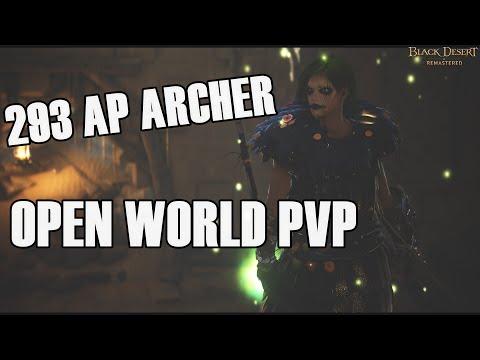 BDO 293 AP Archer Open World PvP #2
