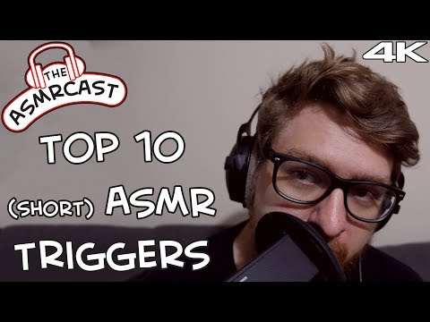 The Top 10 ASMR Triggers EVER! Short Version For Fast Trigger Changes! (Binaural 4k)
