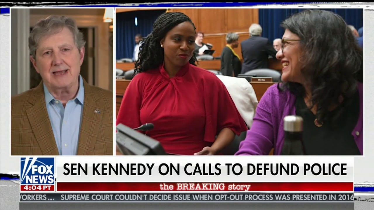 07 08 20 Kennedy talks Democrat Marxist agenda with Fox News's Trace Gallagher
