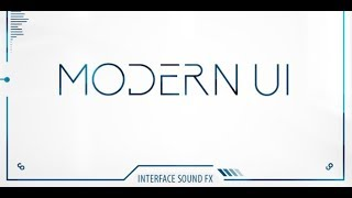 Modern UI Review The best UI sound library by BOOM Library