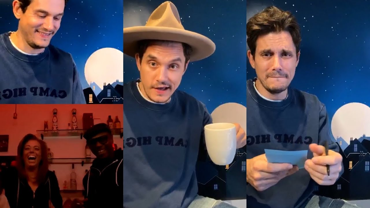 """Download Current Mood """"The Gentle Hours"""" - John Mayer Instagram Live (03/17/2020) with Dave Chappelle"""