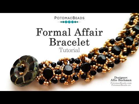 Formal Affair Bracelet - Beadweaving Tutorial
