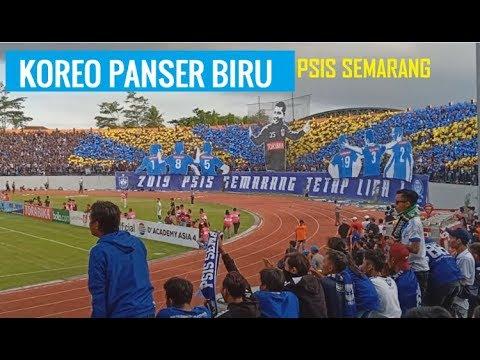 Aksi Koreo Panser Biru PSIS Semarang VS Persib Bandung ✔2019 PSIS SEMARANG TETAP LIGA 1
