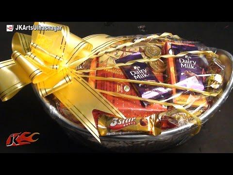 DIY Gift Basket Packaging Idea | How To | JK Arts 646