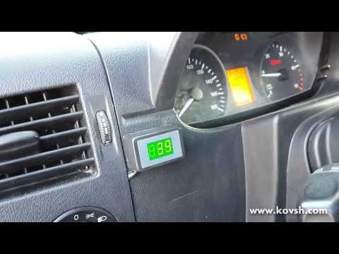Установка датчиков температуры на Mercedes Benz 313 CDI Sprinter OM646