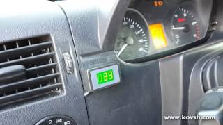 Установка датчиків температури на Mercedes Benz 313 CDI Sprinter OM646