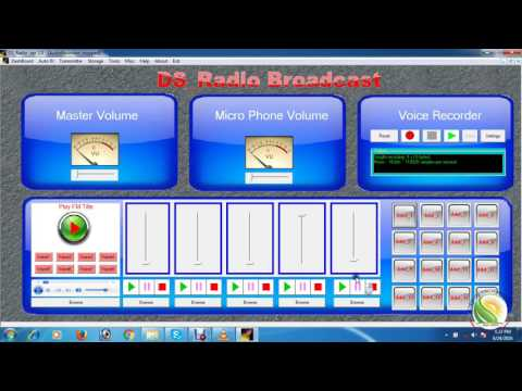 How to make a FREE Radio Broadcast Software( 2016)