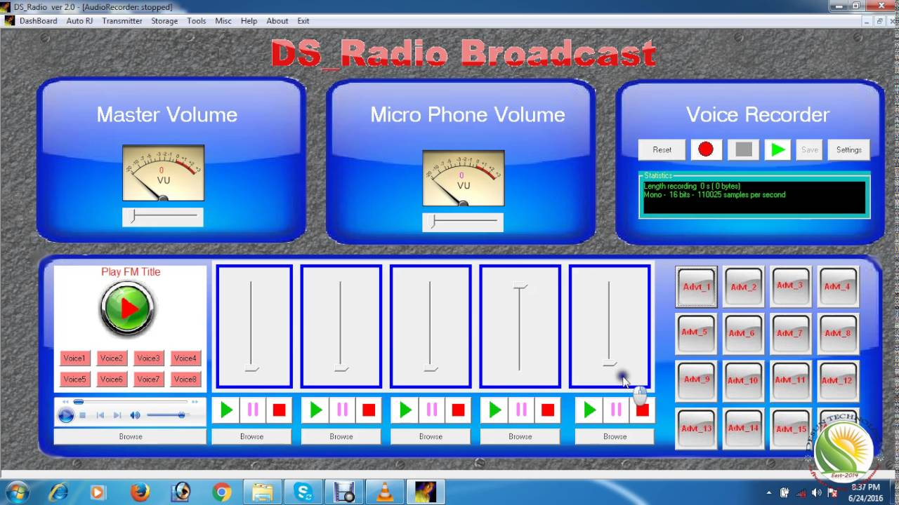 How to make a free radio broadcast software 2016 youtube for Radio parlamento streaming