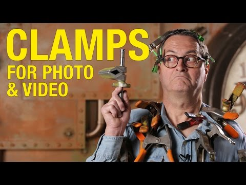 Clamps for Photo and Video: the Basics