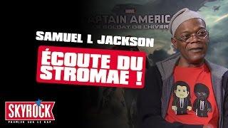 Samuel L. Jackson écoute du Stromae ! [Interview Captain America VOSTFR]