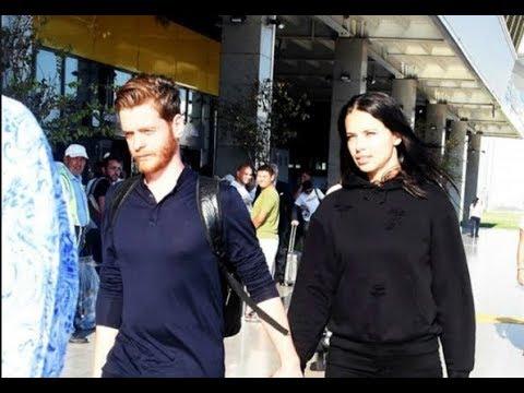 ¡Adriana Lima y su novio Metin Hara!