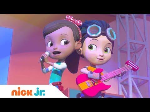 'Ruby & the Rustettes' Karaoke Sing-Along Music Video (w/ Lyrics) | Rusty Rivets | Nick Jr.