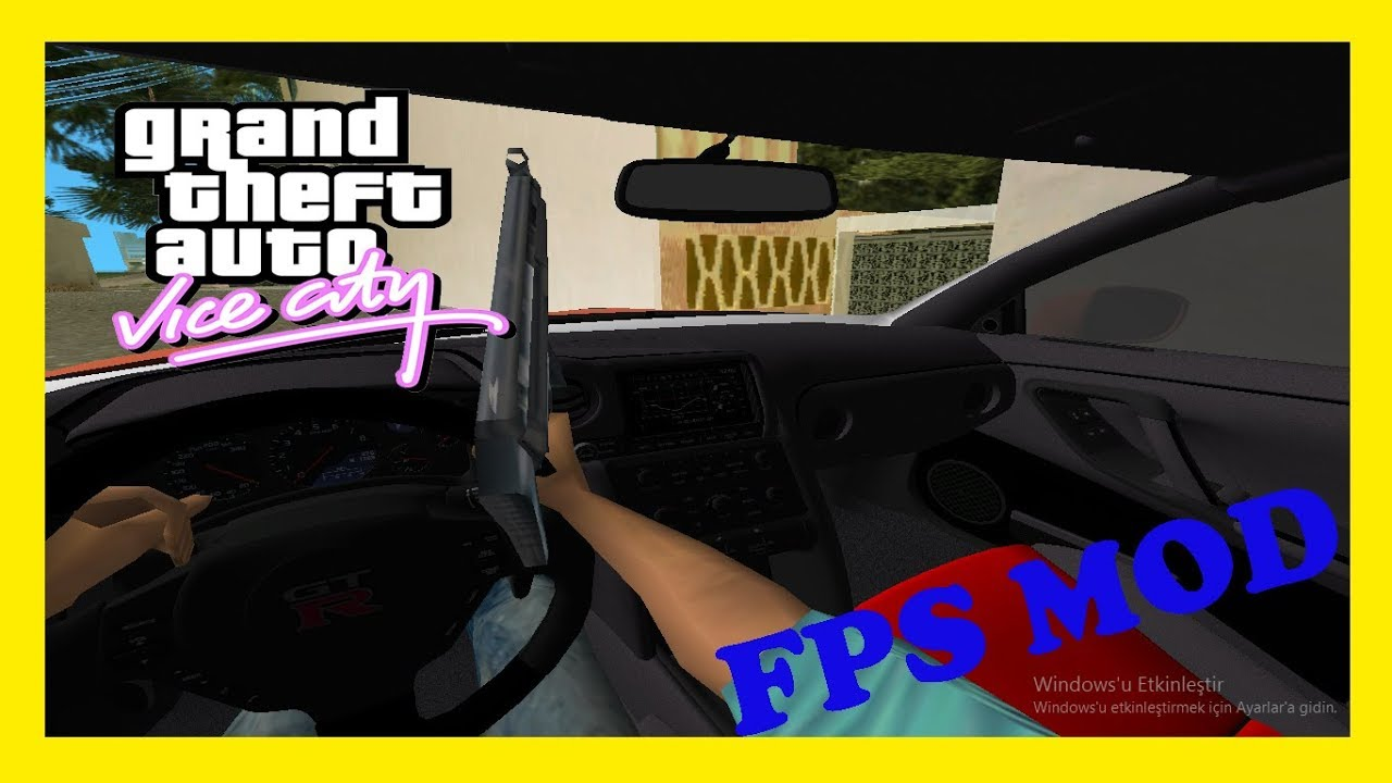 GTA Vice City FPS MODU - GTA 5 GİBİ!