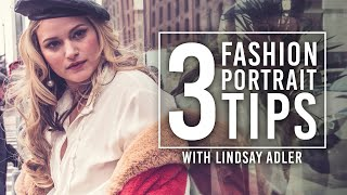 3 Portrait Tips with Lindsay Adler