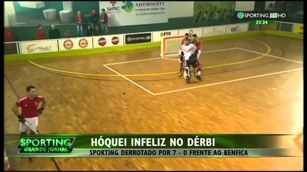 Hoquei Patins :: 14J :: Sporting - 0 x Benfica - 7 de 2014/2015