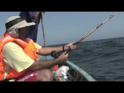 2nd Fishing Trip 2011 near Charna Island, Karachi, Pakistan.