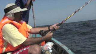 2nd Fishing Trip 2011 near Charna Island, Karachi, Pakistan.
