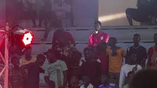 Prestation de Jahman au face to face de Papa Sow vs Siteu