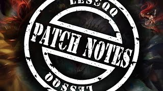 Patch Notes 6.5 Talon NERF?! Soraka Changes Jarvan IV Buff / Clubs in LOL
