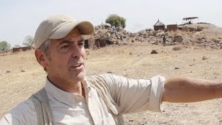 George Clooney Witnesses War Crimes in Sudan