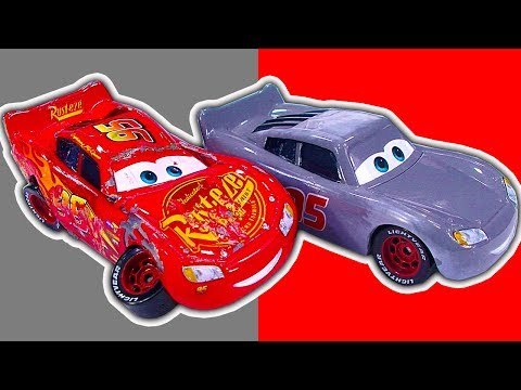 Cars 3 Diecast Toy Story Crashed Lightning McQueen Cruz Ramirez Sticker Book Spoilers