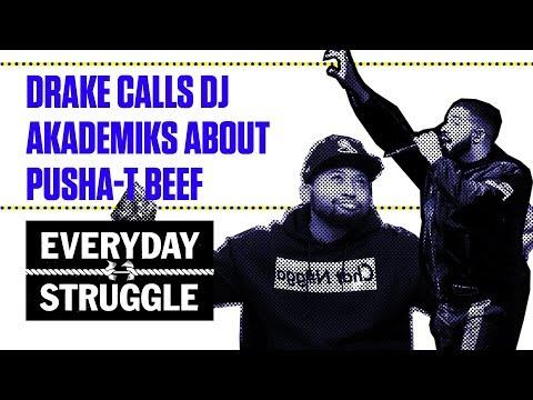 Drake Calls DJ Akademiks About Drake Beef | Everyday Struggle