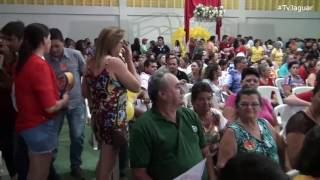 Convenção homologou Marcondes e Lamara candidatos a prefeito e vice-prefeito de Tabuleiro do Norte