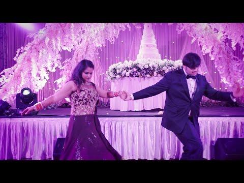 Tere Pyaar ka - Mickey Singh feat Rashi Sood - First Dance Rimi & Raahil
