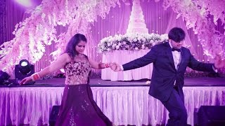 Tere Pyaar ka Mickey Singh feat Rashi Sood First Dance Rimi & Raahil