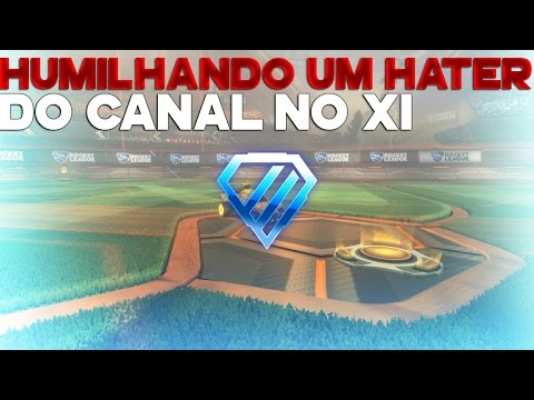 ROCKET LEAGUE HUMILHANDO UM HATER DO CANAL NO X1 RUMO A DIAMANTE 2