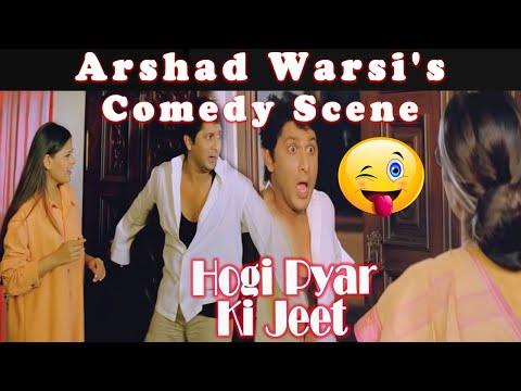 Arshad Warsi's Comedy Scene   Hogi Pyar Ki Jeet Bollywood Hindi Movie